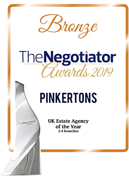 Bronze - UK Estate Agency of The Year, The Negotiator Awards