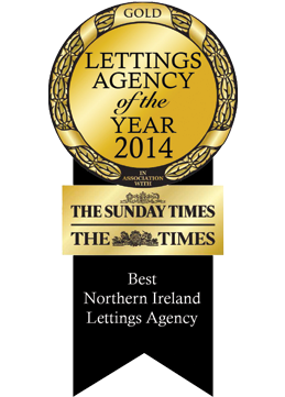 Gold Sunday Times Letting Agency of The Year Awards