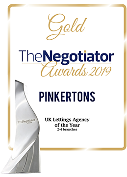 Gold - UK Letting Agency of The Year, The Negotiator Awards