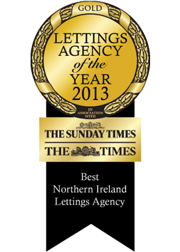 Northern Ireland's Letting Agency of The Year Sunday Times Letting Agency of The Year Awards